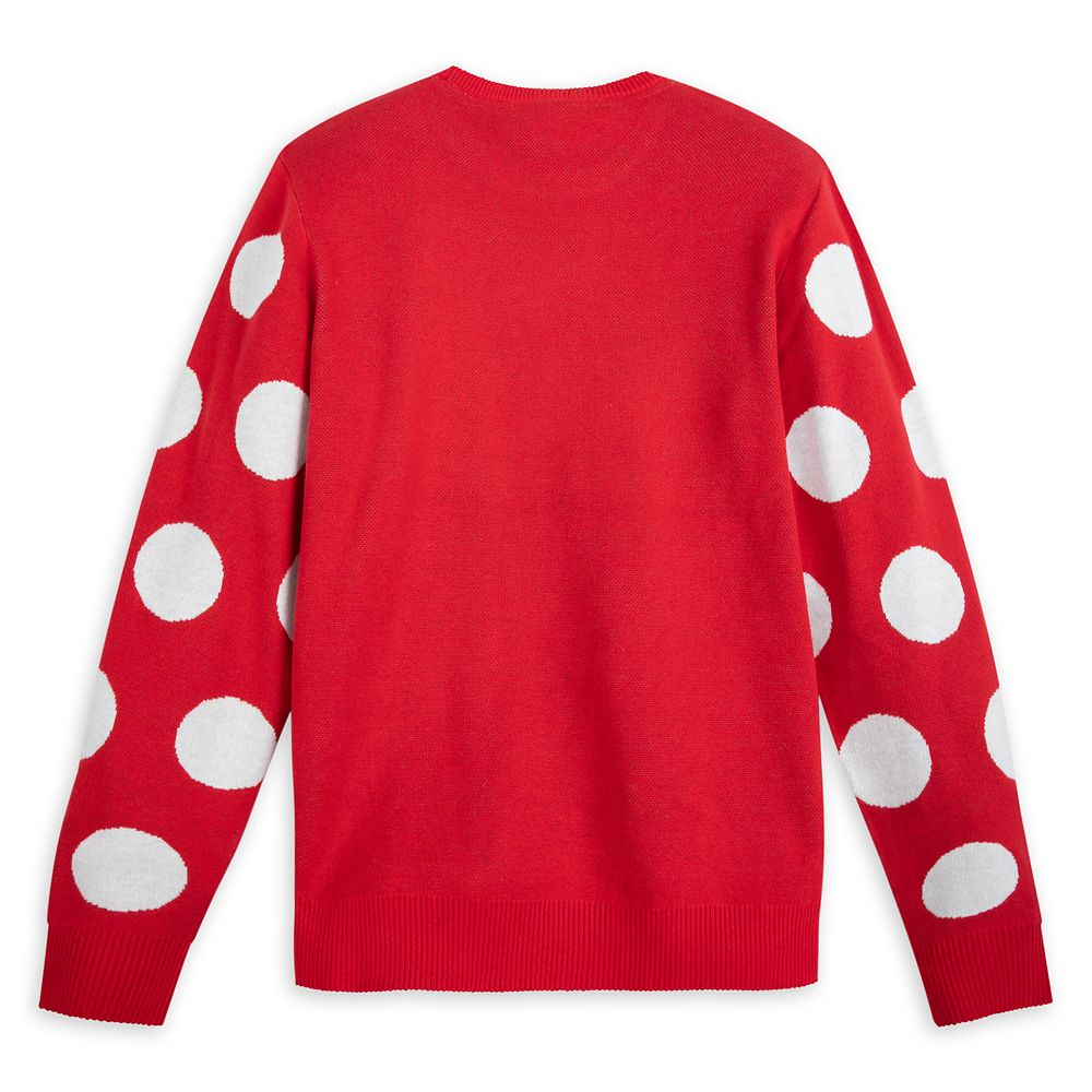 Minnie Mouse Intarsia Knit Sweater for Adults