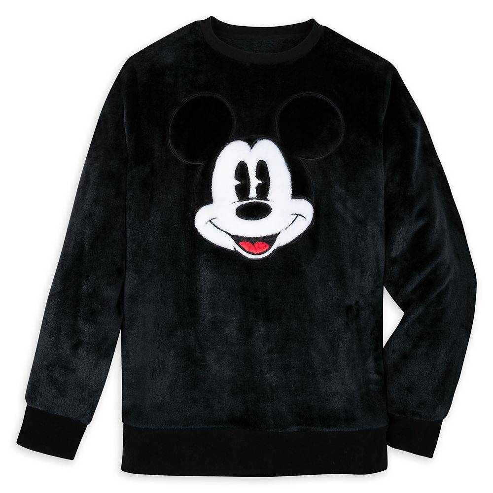 Mickey Mouse Plush Fleece Pullover for Adults