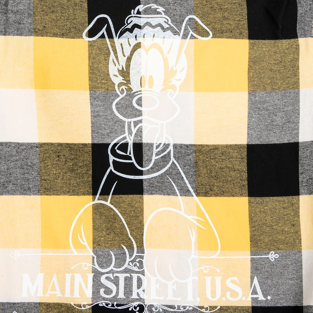 Pluto Plaid Flannel Shirt for Adults