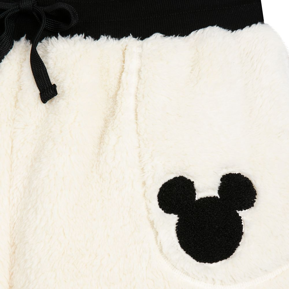 Mickey Mouse Sherpa Jogger Pants for Women