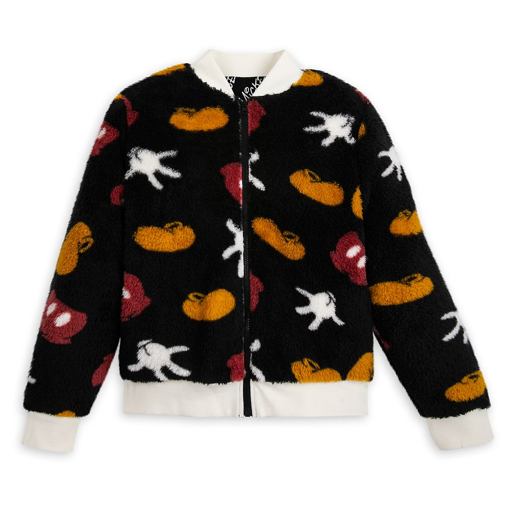 Mickey Mouse Sherpa Zip Jacket for Women