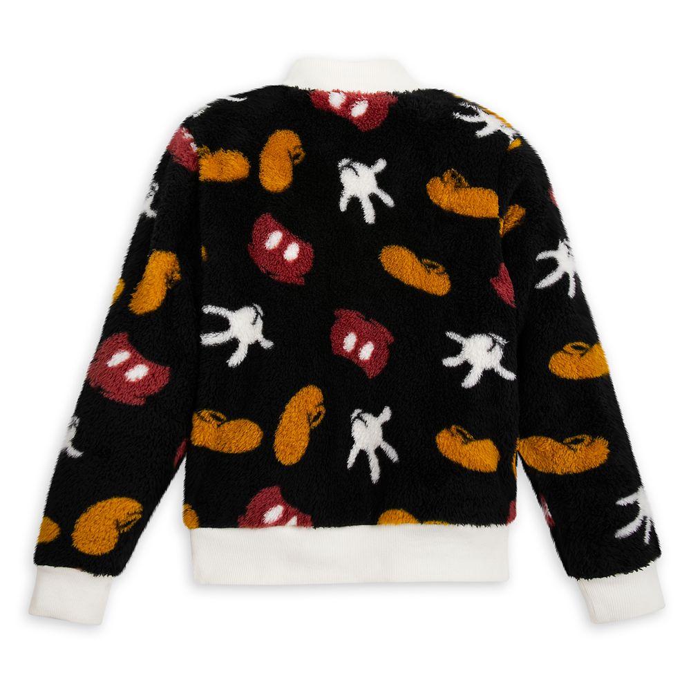 Mickey Mouse Sherpa Zip Jacket for Women