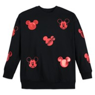Mickey Mouse Red Icon Pullover Sweatshirt for Women