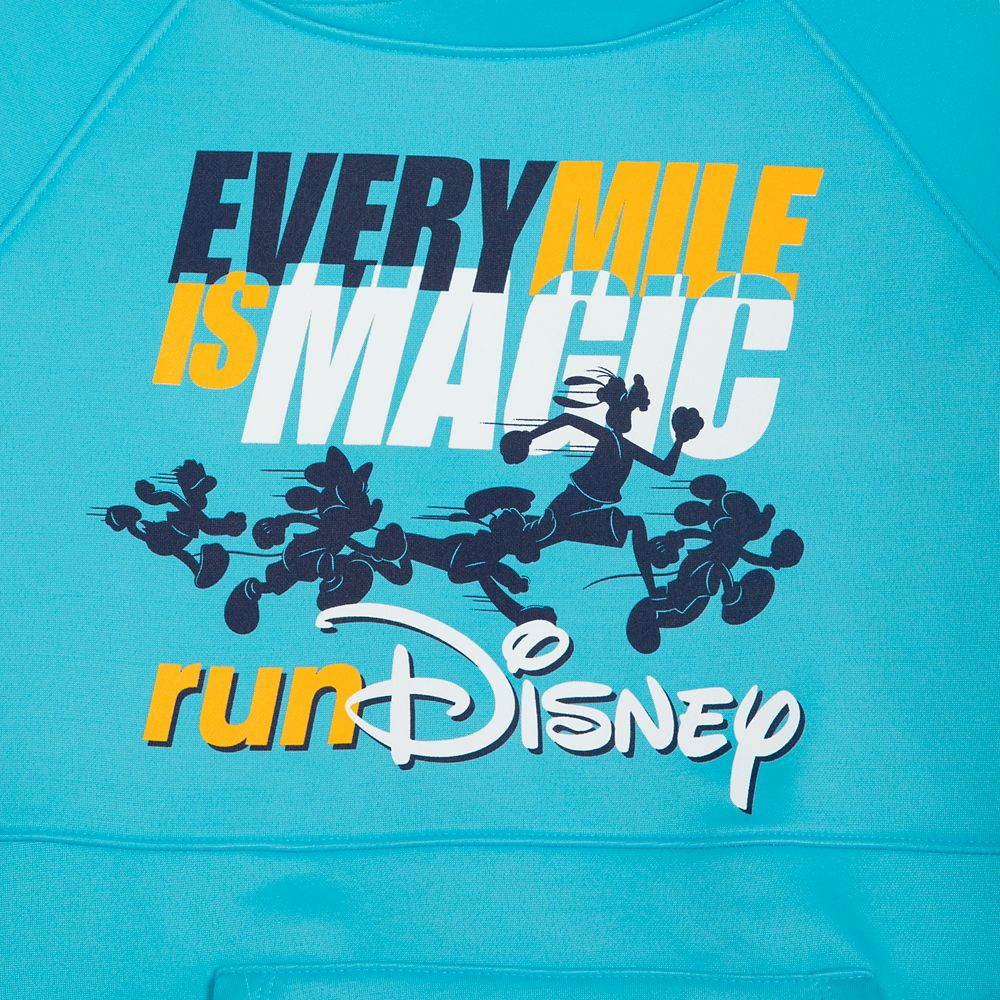 Mickey Mouse and Friends runDisney Pullover Performance Hoodie for Women