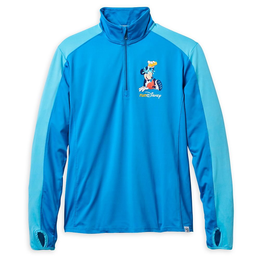 Mickey Mouse runDisney Half-Zip Performance Pullover for Women