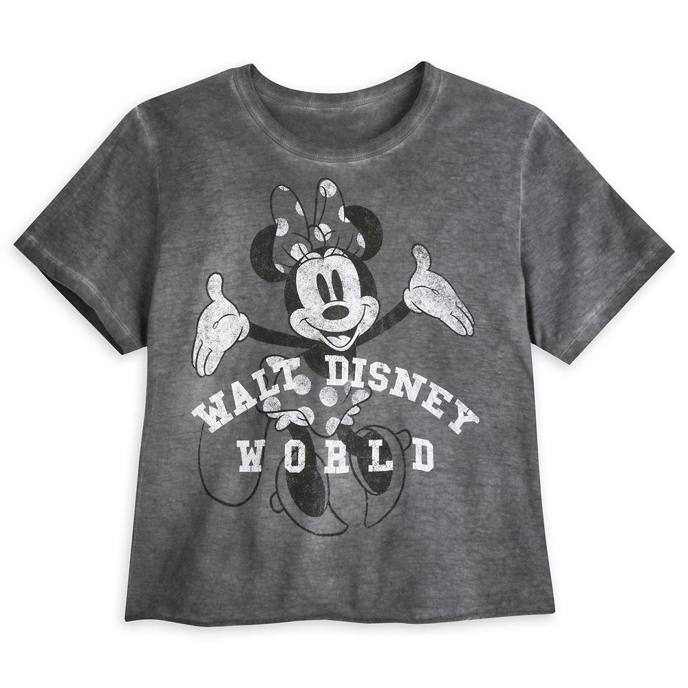 Minnie Mouse Vintage Wash T-Shirt for Women – Walt Disney World