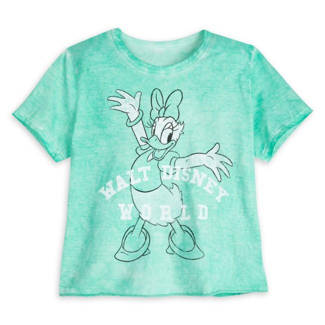 Daisy Duck Vintage Wash T-Shirt for Women – Walt Disney World