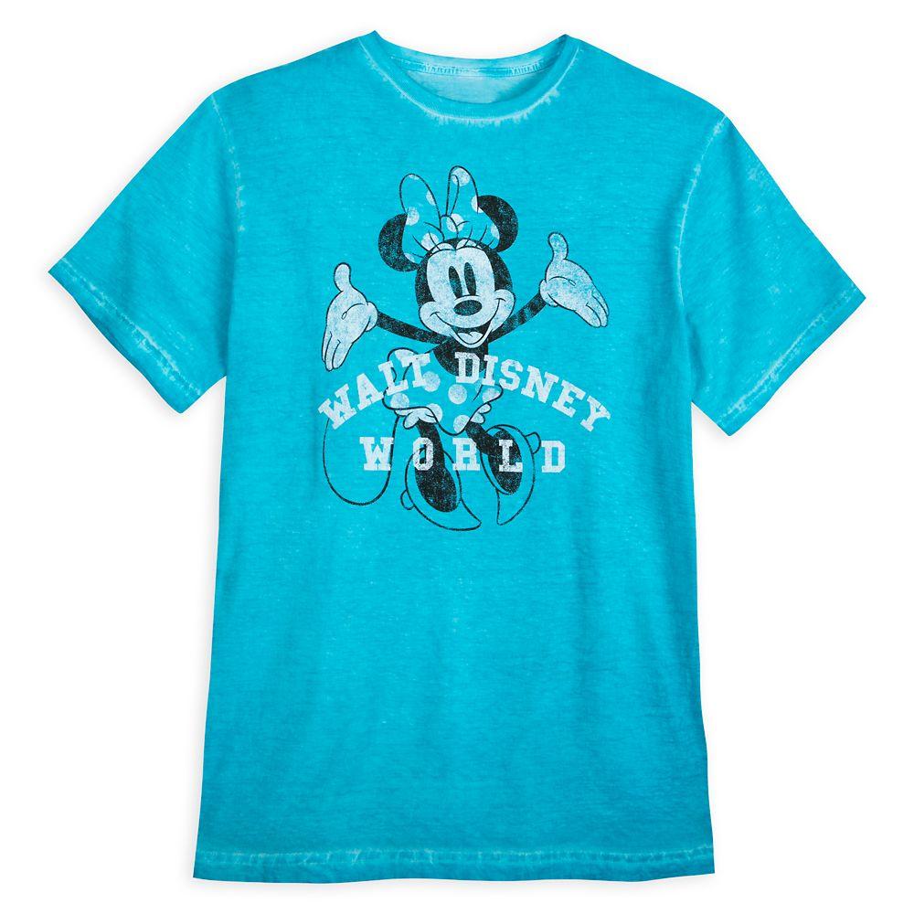 Minnie Mouse Vintage Wash T-Shirt for Adults – Walt Disney World
