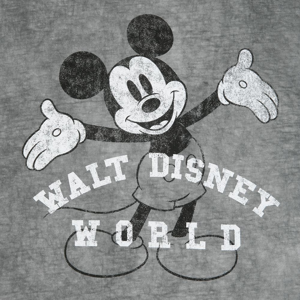 Mickey Mouse Vintage Wash T-Shirt for Adults – Walt Disney World