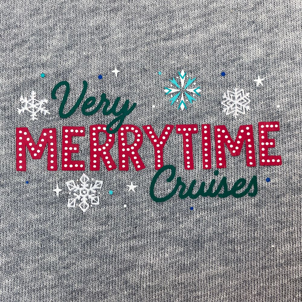 Disney Cruise Line Holiday Zip Hoodie for Men