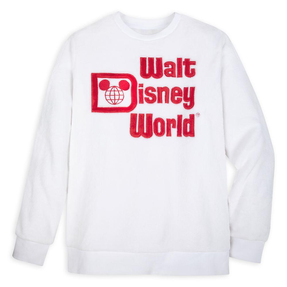 Walt Disney World Plush Fleece Pullover for Adults