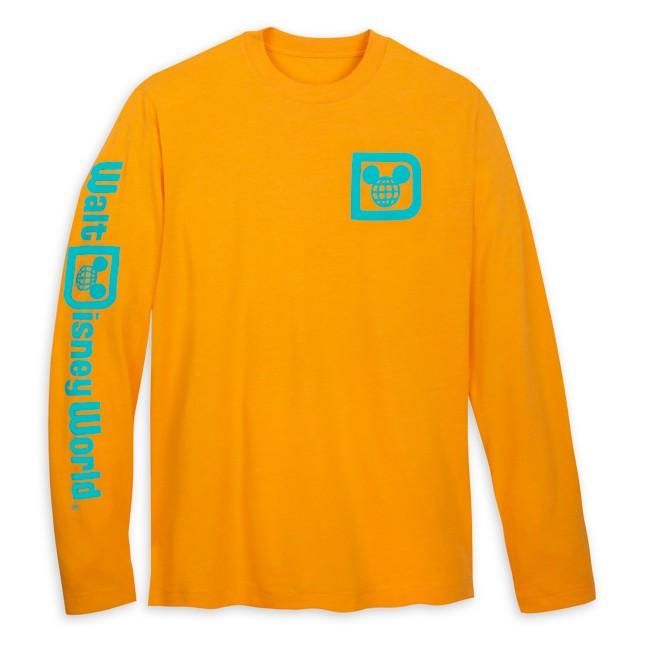Walt Disney World Logo Long Sleeve T-Shirt for Adults – Mango