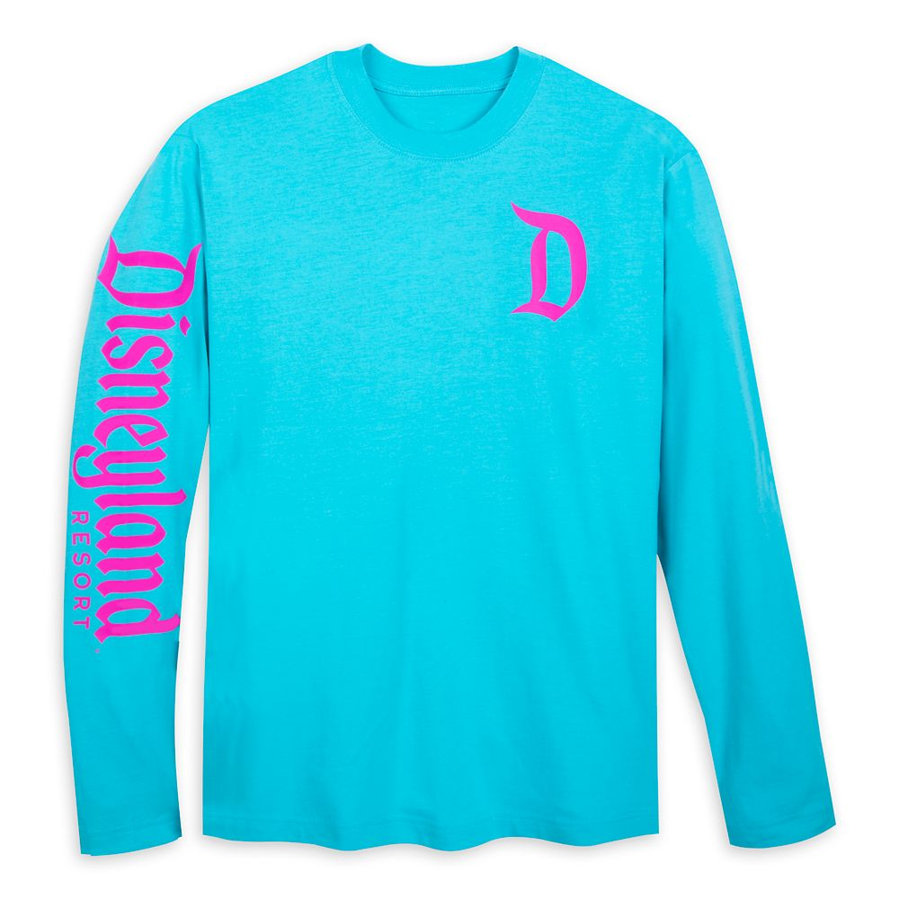 Disneyland Logo Long Sleeve T-Shirt for Adults – Blue