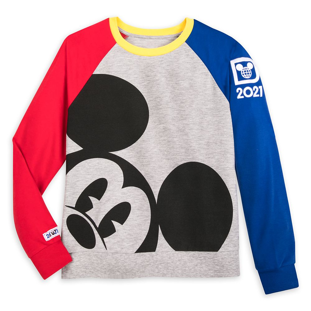 Mickey Mouse Long Sleeve Raglan Pullover for Women – Walt Disney World 2021