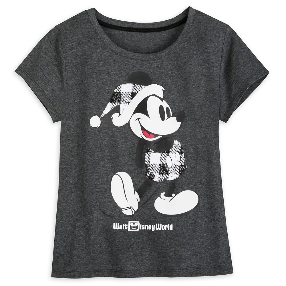 Mickey Mouse Classic Holiday Plaid T-Shirt for Women – Walt Disney World