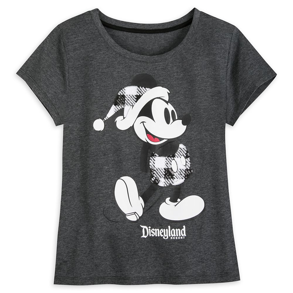 Mickey Mouse Classic Holiday Plaid T-Shirt for Women – Disneyland