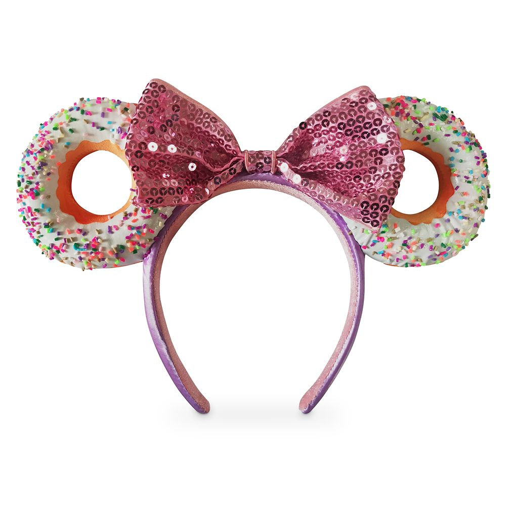 Minnie Mouse Donut Ear Headband