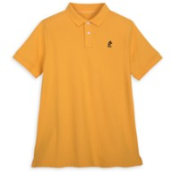 Mickey Mouse Polo Shirt for Adults – Yellow
