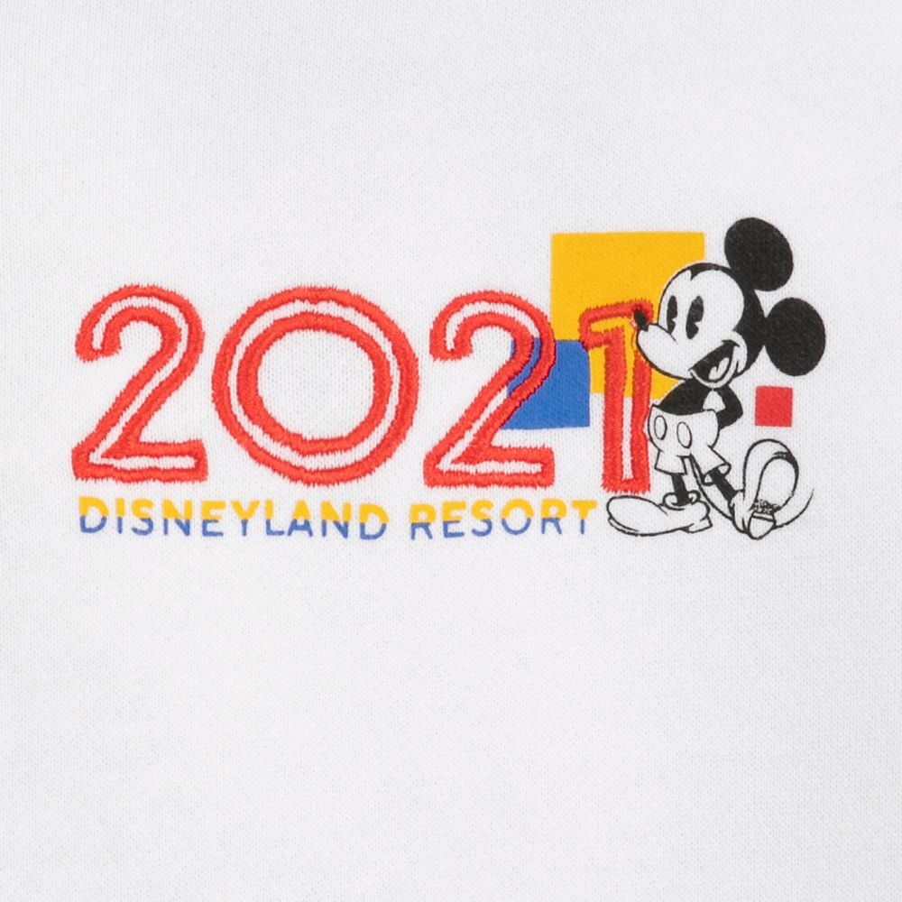 Mickey Mouse and Friends Zip Hoodie for Women – Disneyland 2021