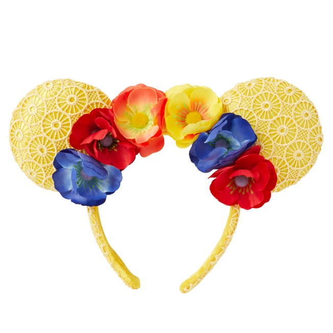 Minnie Mouse Floral Ear Headband – Poppies and Lace