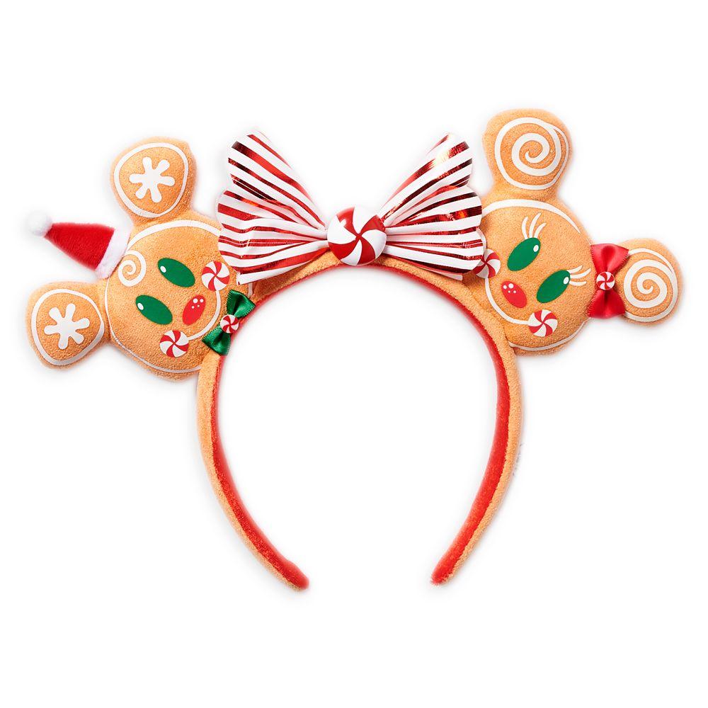 Minnie Mouse Gingerbread Man Ear Headband