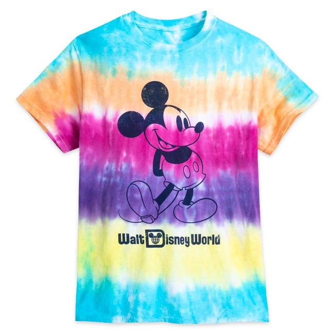 Mickey Mouse Tie-Dye T-Shirt for Adults – Walt Disney World