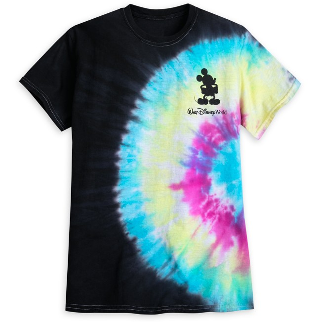Mickey Mouse Silhouette Tie-Dye T-Shirt for Adults – Walt Disney World