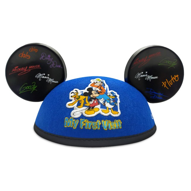 Mickey Mouse and Friends ''My First Visit'' Ear Hat for Adults – Walt Disney World