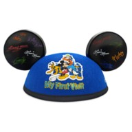 Mickey Mouse and Friends ''My First Visit'' Ear Hat for Adults – Disneyland