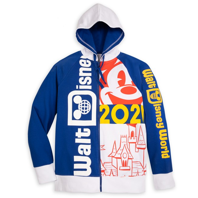Walt Disney World 2021 Zip Hoodie for Adults