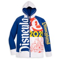 Disneyland 2021 Zip Hoodie for Adults