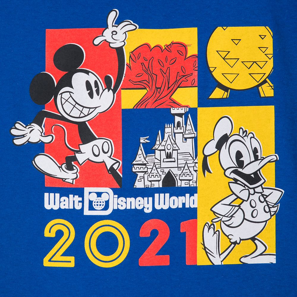 Mickey Mouse and Donald Duck T-Shirt for Adults – Walt Disney World 2021