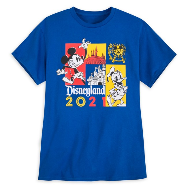 Mickey Mouse and Donald Duck T-Shirt for Adults – Disneyland 2021