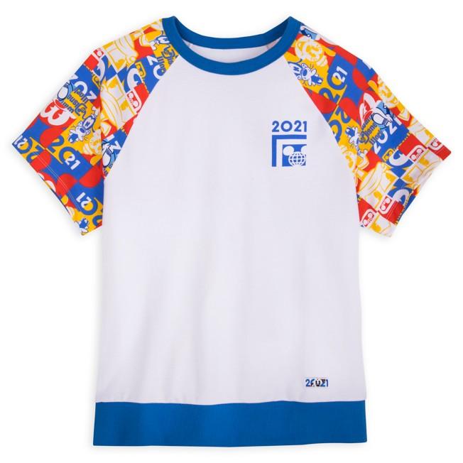 Mickey Mouse and Friends Raglan T-Shirt for Women – Walt Disney World 2021