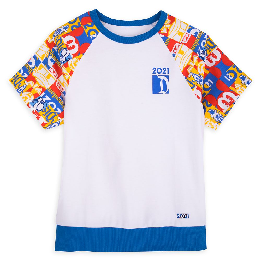 Mickey Mouse and Friends Raglan T-Shirt for Women – Disneyland 2021