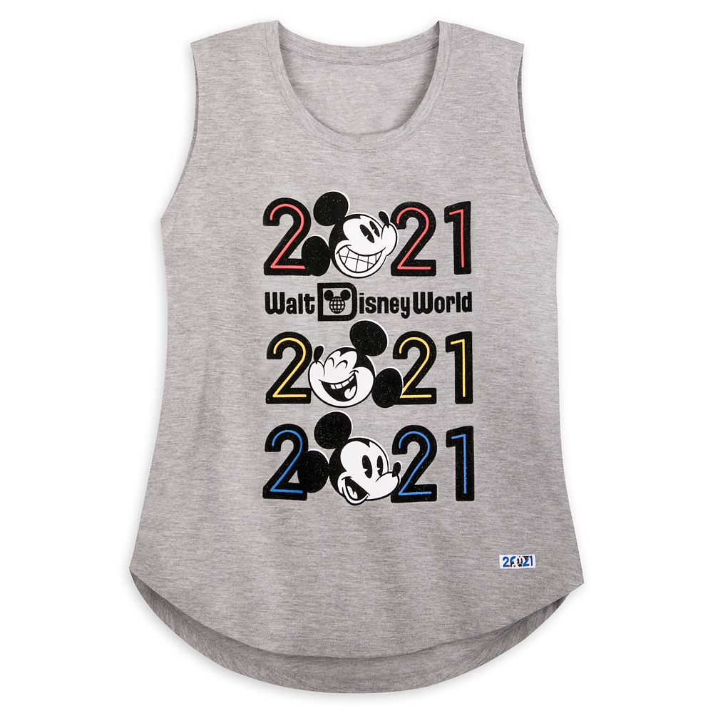 Mickey Mouse Tank Top for Women – Walt Disney World 2021