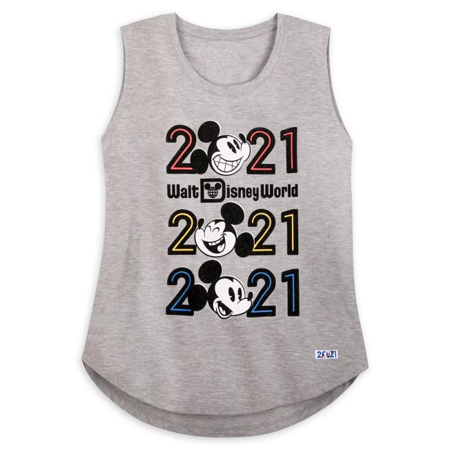 Mickey Mouse Tank Top for Women – Walt Disney World 2021