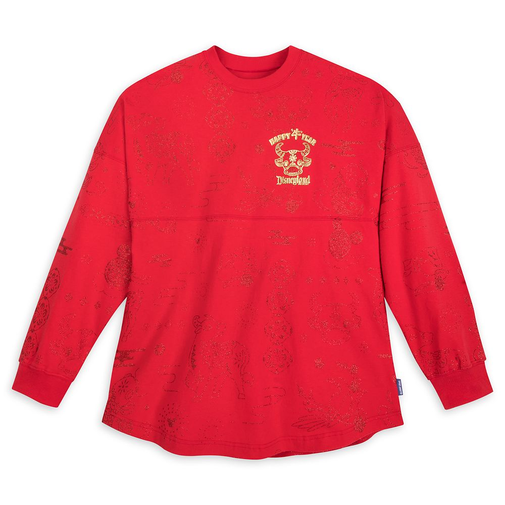 Mickey Mouse Disneyland Spirit Jersey for Adults – Lunar New Year 2021