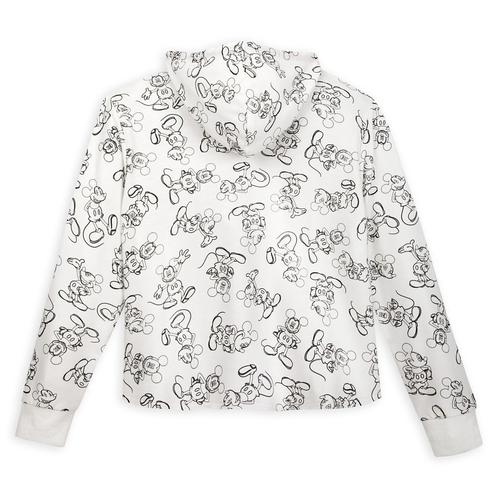 Mickey Mouse Sketch Art Pullover Hoodie for Women – Disneyland