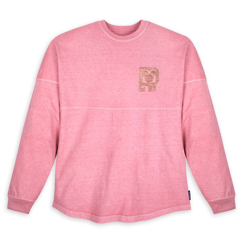 Walt Disney World Briar Rose Gold Glitter Spirit Jersey for Adults