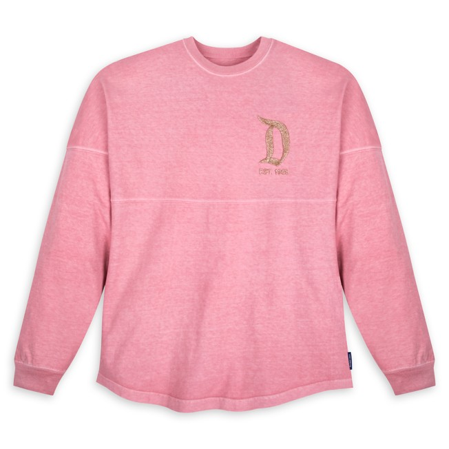 Disneyland Briar Rose Gold Glitter Spirit Jersey for Adults