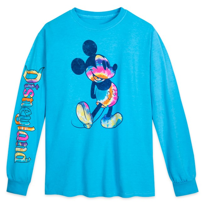Mickey Mouse Long Sleeve T-Shirt for Adults – Disneyland