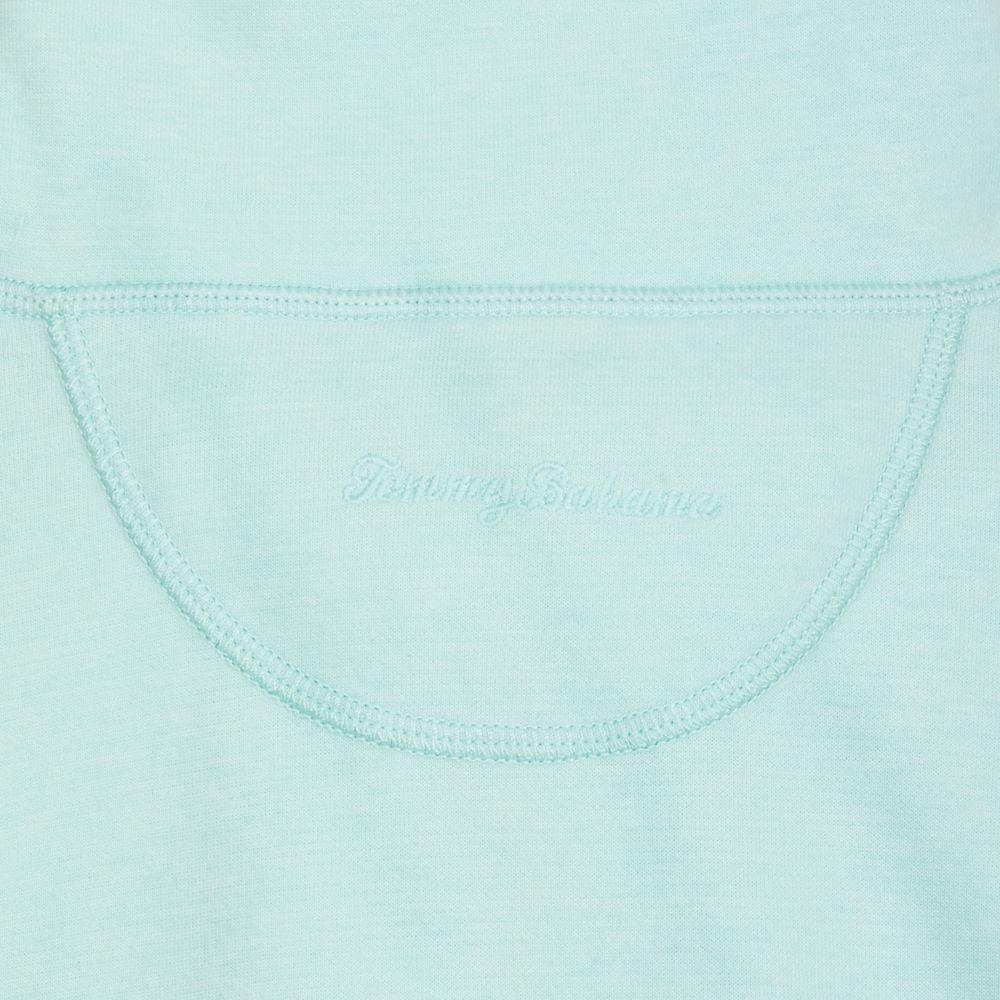 Minnie Mouse Sun Fade Half-Zip Sweatshirt for Women by Tommy Bahama – Light Blue
