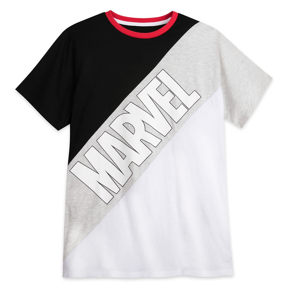 Marvel Logo T-Shirt for Men by Our Universe