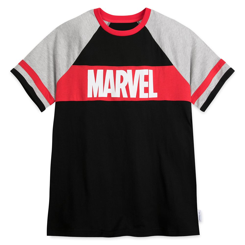 Marvel Logo Raglan T-Shirt for Men by Our Universe