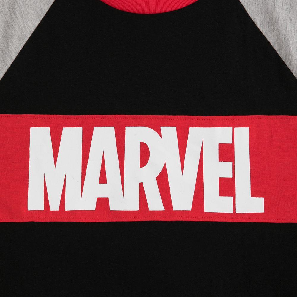 Marvel Logo Raglan T-Shirt for Men by Our Universe