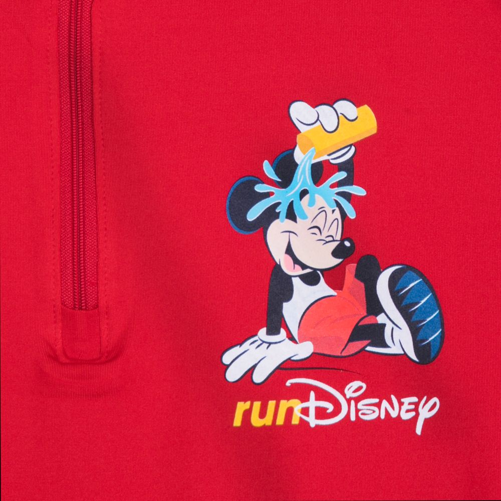 Mickey Mouse runDisney Partial-Zip Performance Pullover for Men
