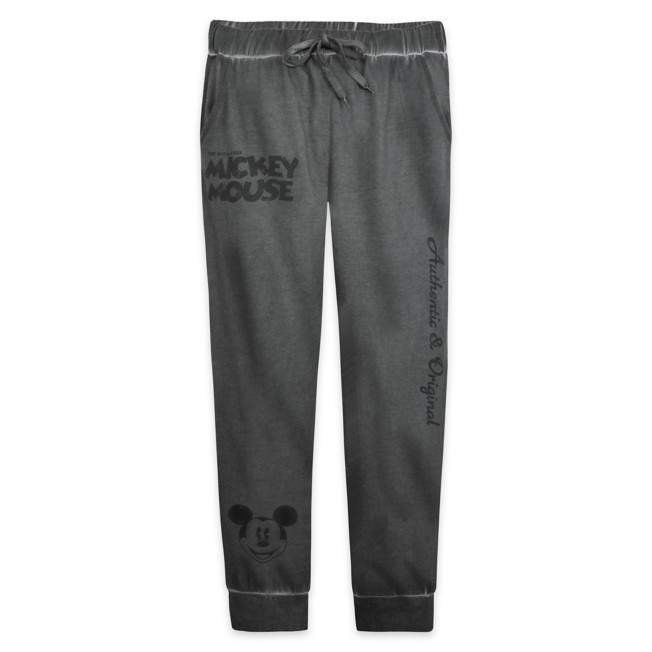 Mickey Mouse Mineral Wash Sweatpants for Adults