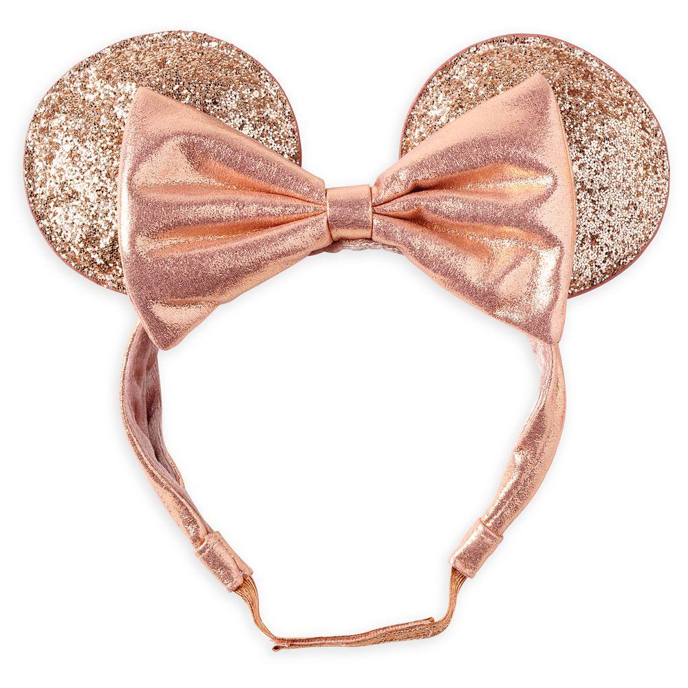 Minnie Mouse Adjustable Ear Headband – Briar Rose Gold
