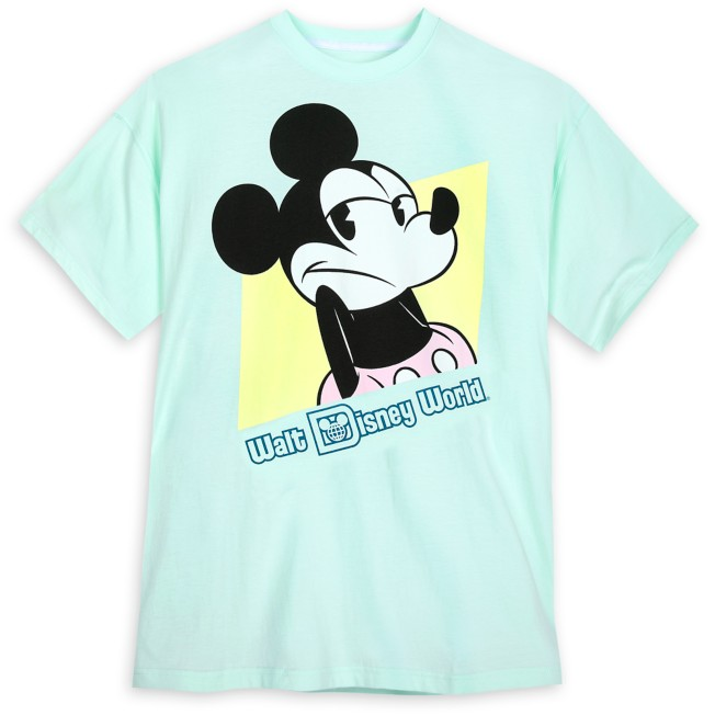 Mickey Mouse Shrugging Pastel T-Shirt for Adults – Walt Disney World